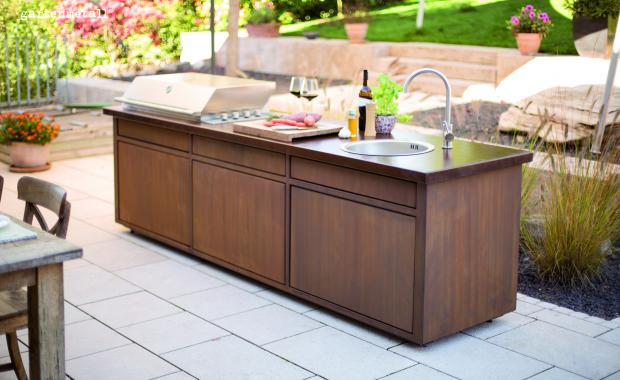 Garten Mit Outdoor Küche : Willkommen auf klotz bauelemente interieur & design