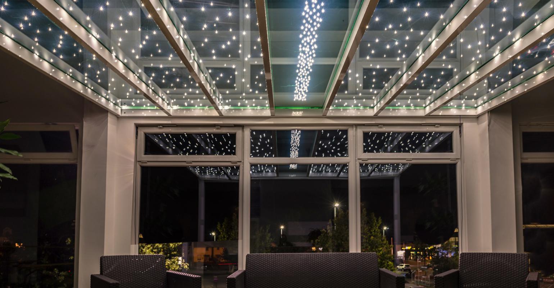 Starglass, Terrassenüberdachung, Überdachung, Gartenzimmer