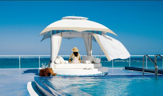 Cabana, Sonnenschutz, Überdachung, Garten, Outdoor, Lounges