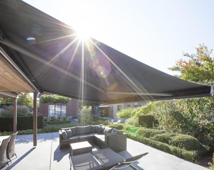 Terrasse, Sonnenschutz, Sichtschutz